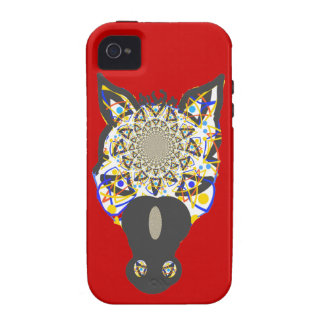 Horse Face abstract Iphone cases Vibe iPhone 4 Case