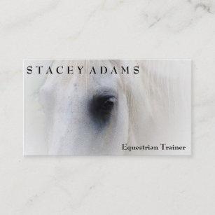 Horse business cards business card printing zazzle uk horse farm equestrian trainer horseback riding business card colourmoves