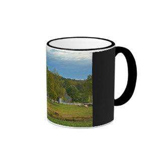 Horse Farm - Gettysburg, Pennsylvania Ringer Mug