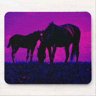 Horse & Filly Mousepads