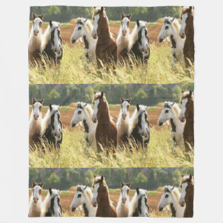 Horse Fleece Blanket (Large)