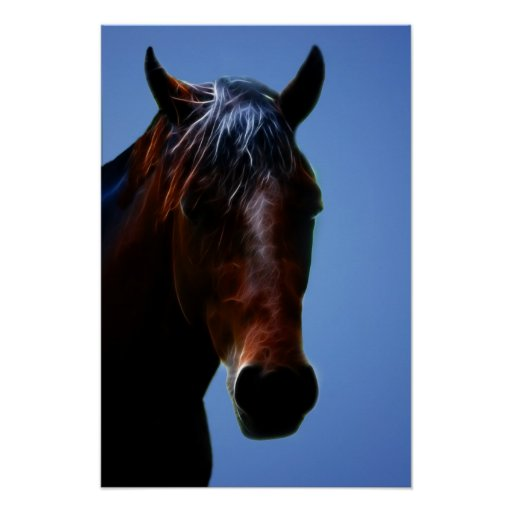 Horse for Lucy Posters