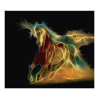 Horse Fractal Photograph