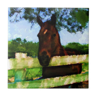Horse Friendly Small Square Tile