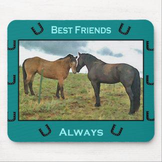 Horse Friendship Mousepad