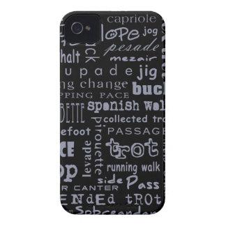 Horse Gaits iPhone 4 Case-Mate Cases