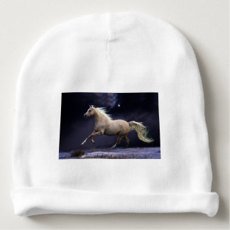 horse galloping baby beanie
