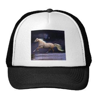 horse galloping trucker hat