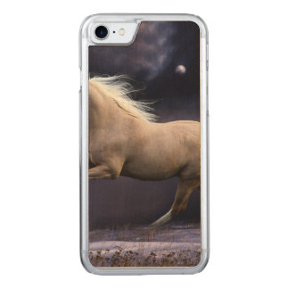 horse galloping carved iPhone 8/7 case