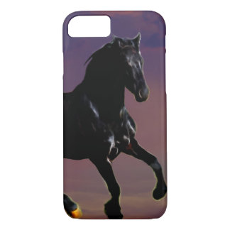 Horse galloping free iPhone 7 case