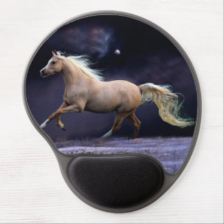 horse galloping gel mouse pad