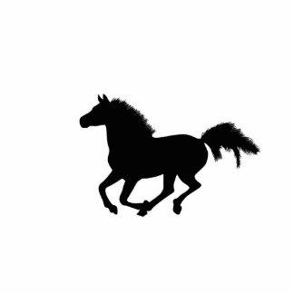Horse galloping sculpture, gift idea standing photo sculpture