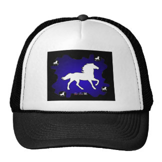 HORSE GIFTS CUSTOMIZABLE PRODUCTS MESH HATS