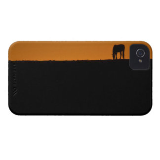 Horse grazing on Kentucky farm iPhone 4 Case-Mate Cases