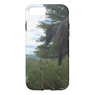Horse Grazing Phone Case