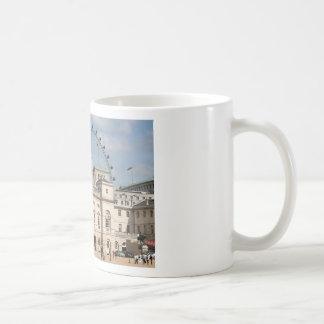 Horse Guards Parade, London, England Basic White Mug