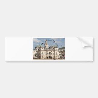 Horse Guards Parade, London, England Bumper Sticker