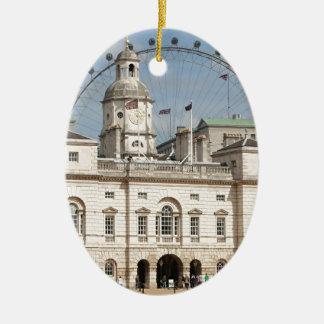 Horse Guards Parade, London, England Christmas Ornament