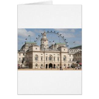 Horse Guards Parade, London, England Greeting Card
