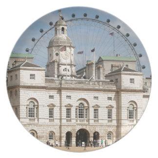Horse Guards Parade, London, England Plate