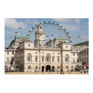 Horse Guards Parade, London, England Postcard