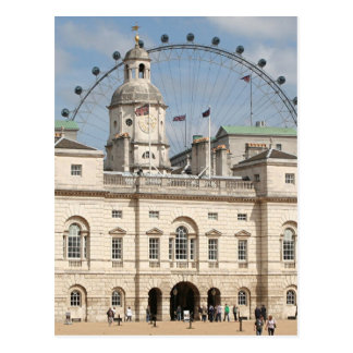 Horse Guards Parade, London, England Postcard