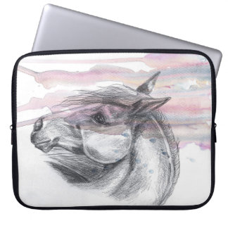 Horse Head 1 Sleeve Laptop Computer Sleeve