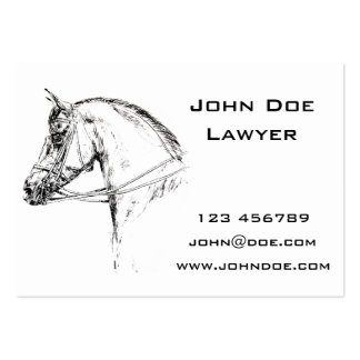 Horse Head Business Card Templates