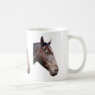 Horse head. coffee mug