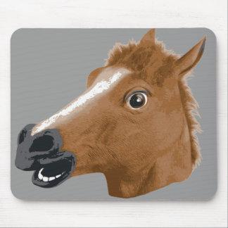 Horse Head Creepy Mask Mouse Mat