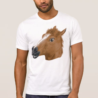 Horse Head Creepy Mask T-Shirt