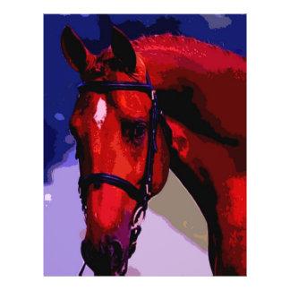 Horse Head 21.5 Cm X 28 Cm Flyer