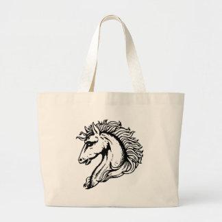 Horse Head Jumbo Tote Bag