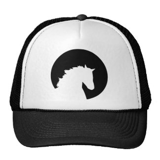 Horse head moon hats