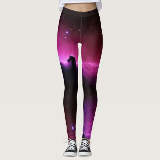 Horse head Nebula Galaxy Leggings