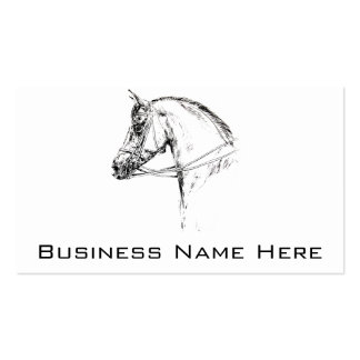Horse Head Pack Of Standard Business Cards