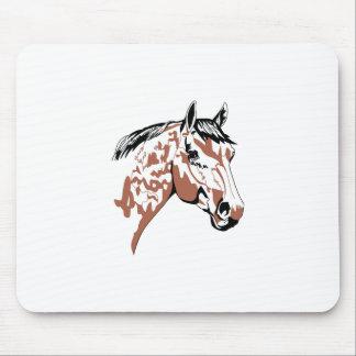 Horse Head Profile Mouse Pad