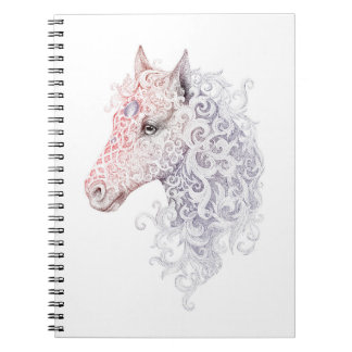 Horse Head Tattoo Notebook