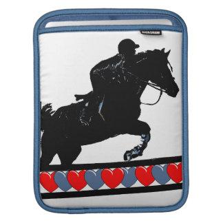 Horse & Hearts iPad Sleeve