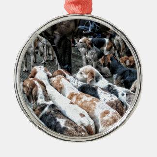 Horse & Hound Christmas Ornament