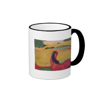 Horse in a landscape 1910 coffee mugs