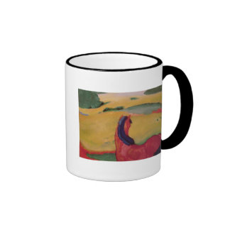 Horse in a landscape, 1910 coffee mugs