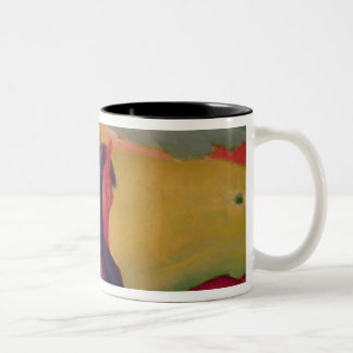 Horse in a landscape, 1910 Two-Tone coffee mug