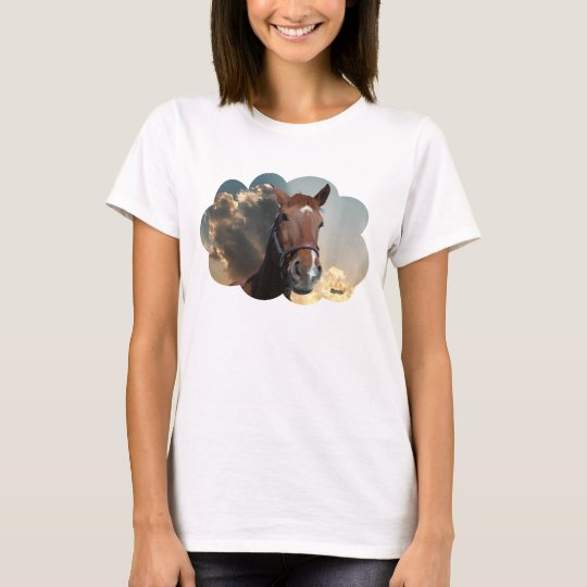 Horse in cloud 03 T-Shirt