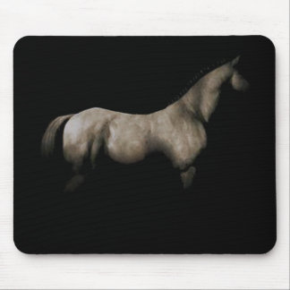 horse in shadows mouse pad