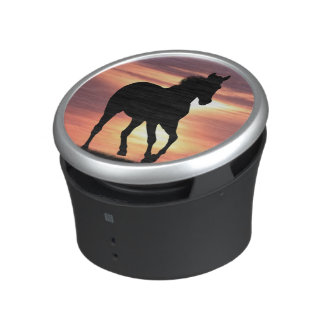 Horse In Sunrise Speaker
