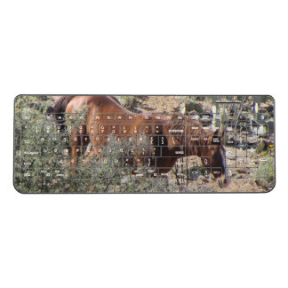 Horse in the Desert Wireless Keyboard