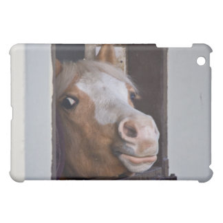 Horse in the Stables iPad Case
