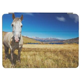 Horse in Torres del Paine National Park, Laguna iPad Air Cover