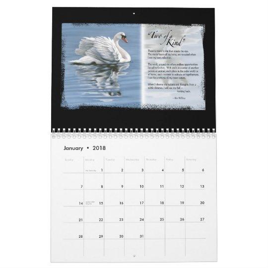 Horse Inspiration Calendar, ©Kim McElroy 20 Wall Calendars